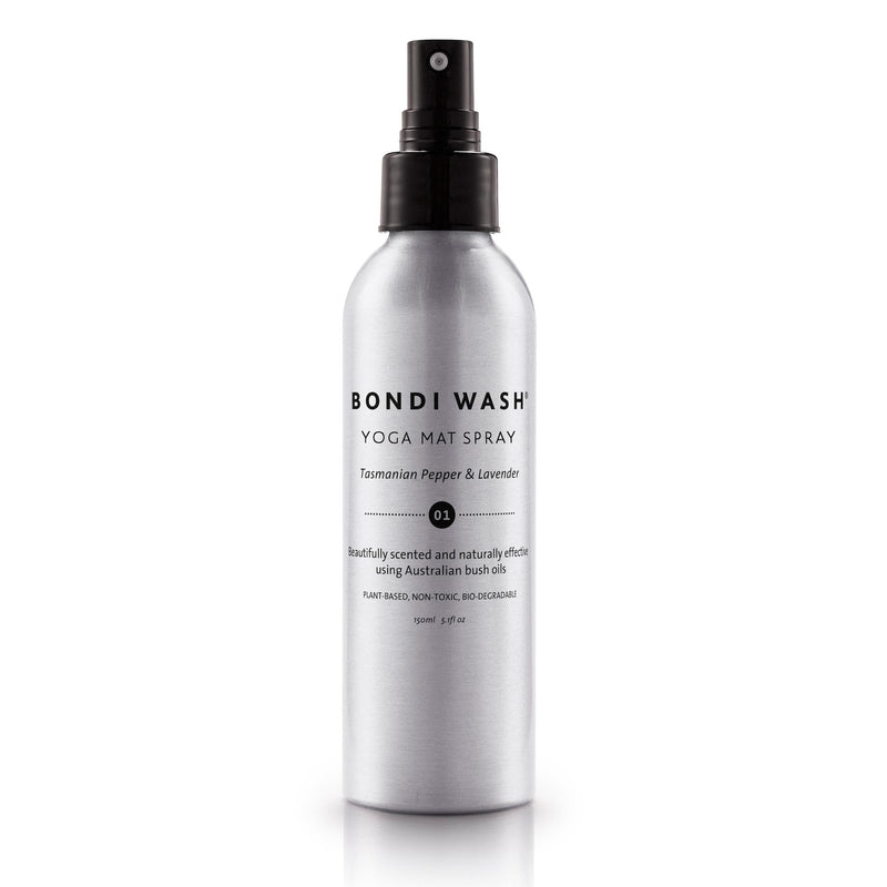 Bondi Wash Yoga Mat Spray - Tasmanian Pepper and Lavender 150 ml