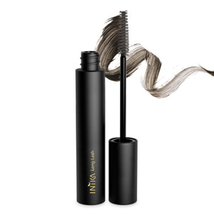 Inika Organic, long lash vegan mascara, vegan mascara. The Long Lash Vegan Mascara is a luxurious formula that uses 100% plant-derived.