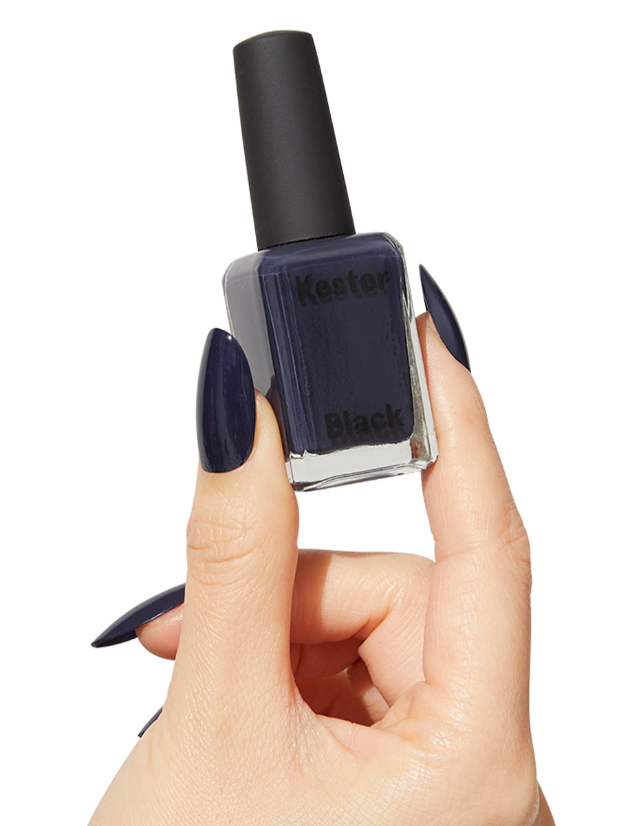 Periwinkle - Navy Blue Polish