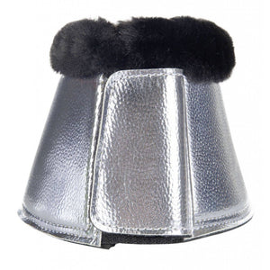HKM Metallic Bell Boots with Faux Fleece