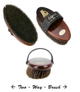 Leistner Espirt Two Way Brush