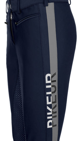 Pikeur Aura Knee Grip Softshell Breeches - Navy Size 80 [12 Long]