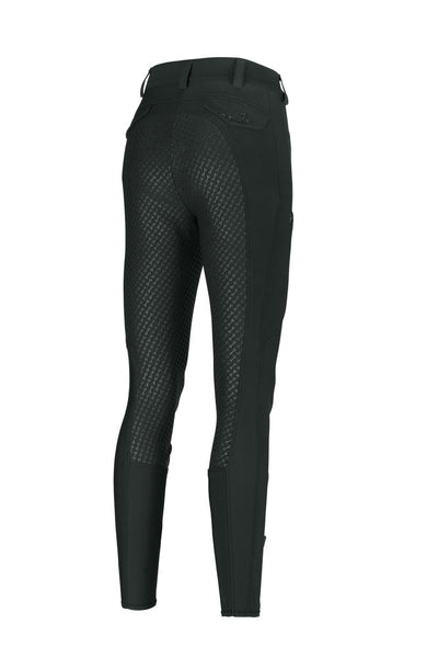 Pikeur Laure Grip Breeches Full Patches: Dark Green