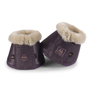 Eskadron Heritage Soft Slate Bell Boots Deep Berry