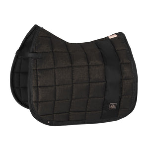 Eskadron Heritage Cotton Big Square Saddle Pad Black