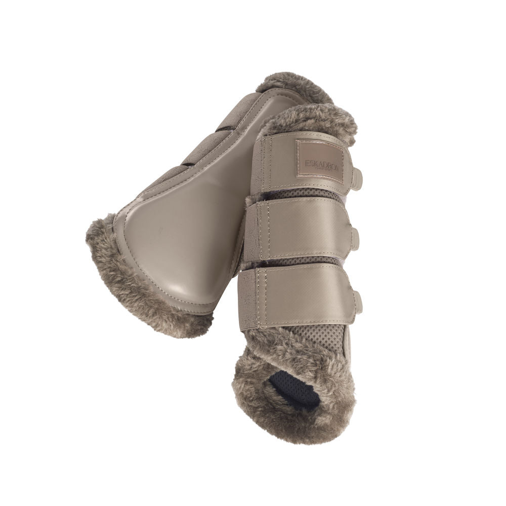 Eskadron Classic Sports Tendon Boots MESH FAUXFUR - Tender Taupe