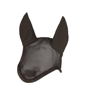 Eskadron Platinum Mesh Ear Bonnet Havana Brown