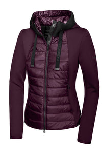 Pikeur IVORI Jacket Material Mix Functional Bordeaux