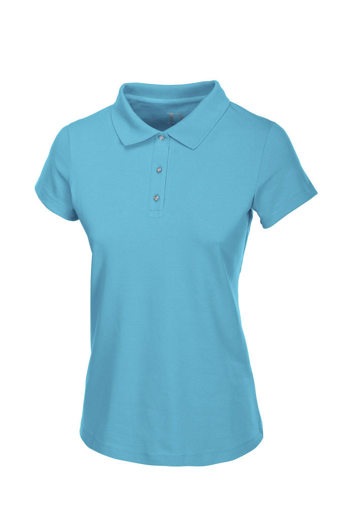 Pikeur SS20 Gara Polo Shirt Carribean Sea [Pre-Order]