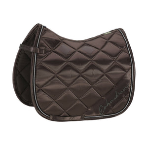 Eskadron Classic Sports Saddle Cloth SATIN DIAGONAL Brown