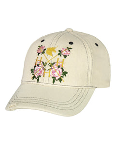 House of Horses Helsinki La Vie En Rose Denim Cap