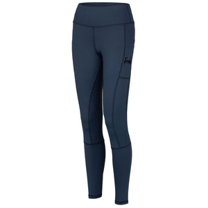 Frankie Comfort Grip High Waist Legging Breeches - Steel Grey