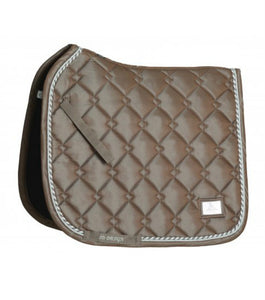 NEW! SD Design Gem Collection Limited Edition Smokey Quartz Saddle Pad [Pre-Order]