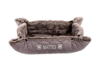 "Mattes Dog Bed ""Dusty"""