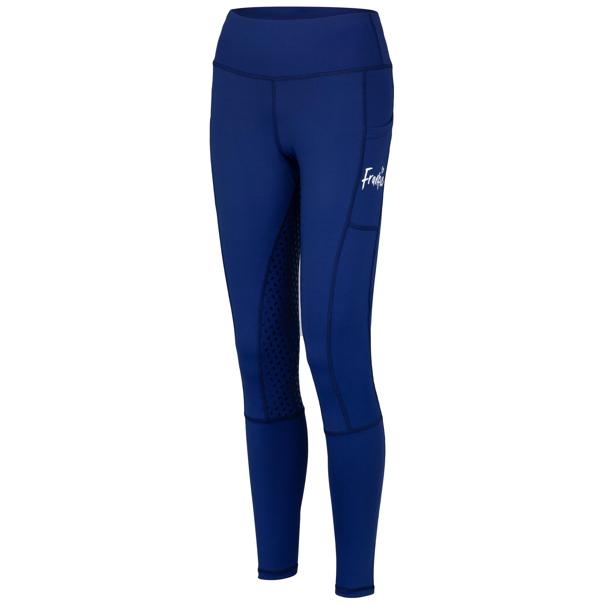 Frankie Comfort Grip High Waist Legging Breeches - Dark Blue