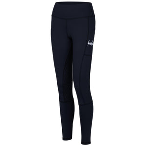 Frankie Comfort Grip High Waist Legging Breeches - Black