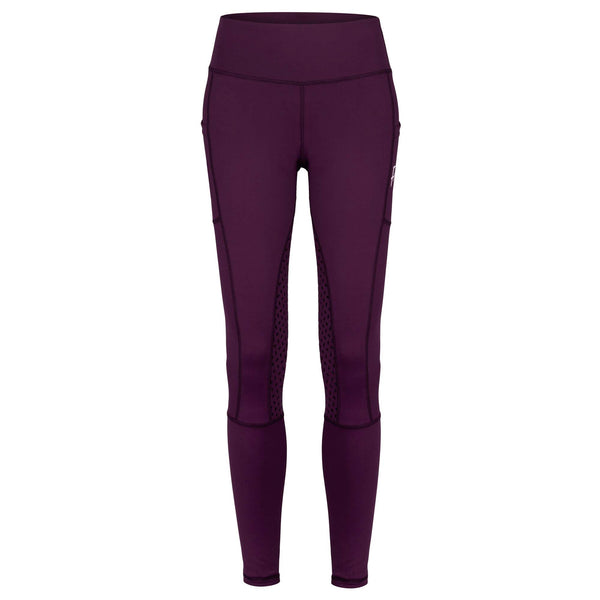 Frankie Comfort Grip High Waist Legging Breeches - Blackberry