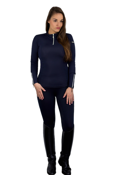 HorseGloss Base Layer Navy