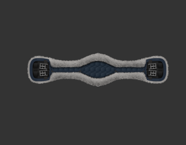 Mattes Short Girth Navy Anatomic [CUSTOM ORDER]