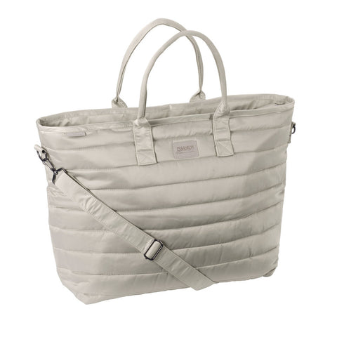 Eskadron Platinum Glossy Shopper Bag Greige