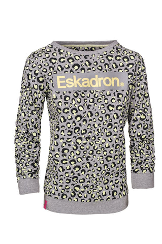 Eskadron Dodo Sweater Grey Lemon Animal