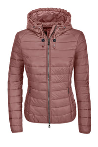 Pikeur JEAN Quilted Jacket Rosewood