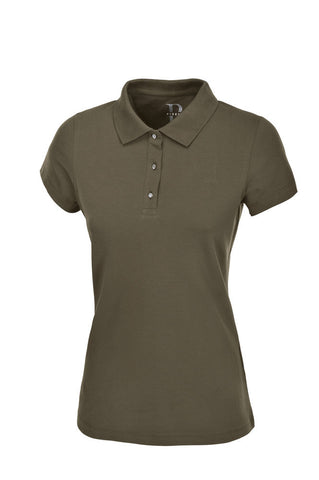 Pikeur SS20 Gara Polo Shirt Olive Tree