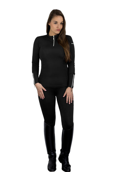 HorseGloss Bella Black Base Layer
