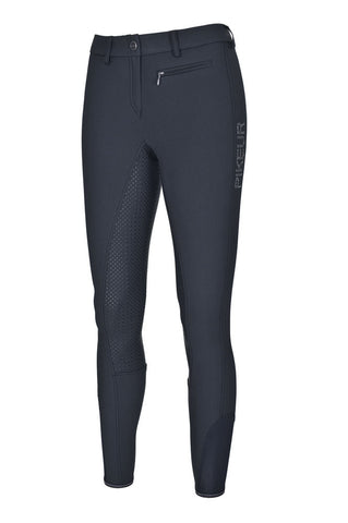 Pikeur Lucinda Grip Ladies Breeches Black Navy - Size 46/18