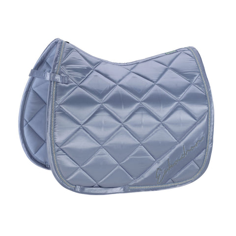 Eskadron Classic Sports Saddle Cloth SATIN DIAGONAL Sky Blue