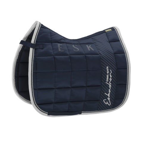Eskadron Classic Sports Saddle Cloth BIG SQUARE GLOSSY Navy