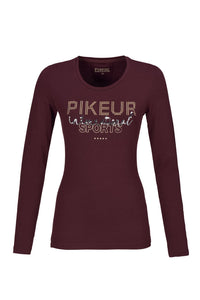 Pikeur AYLA Long Sleeve T-Shirt Wine [Size 40/12]