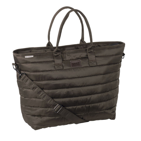 Eskadron Platinum Glossy Shopper Bag Havana Brown