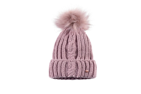 Pikeur Knitted Beanie - English Rose