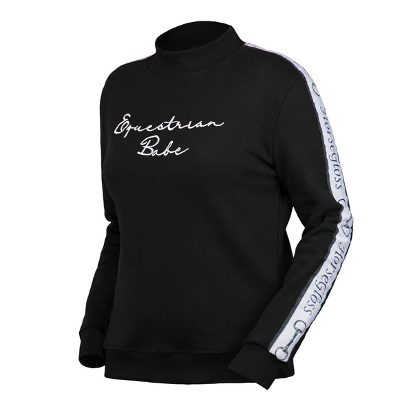 HorseGloss Equestrian Babe Sweater Black