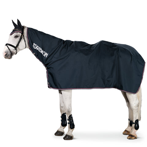 Eskadron Rain Rug with Neck Cover Navy Blue [M / 6'0]