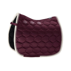 Eskadron Blackberry Glossy Wave Contrast Saddle Pad