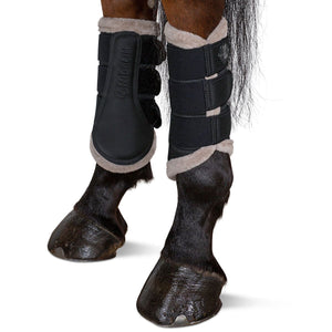 Eskadron Mesh Tendon Boots Caviar [Black/Grey]