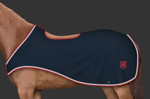 Mattes Navy / Red / White Ride in Rug [Custom Order]