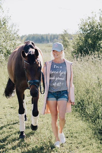 House Of Horses Helsinki Horse Girl T-Shirt