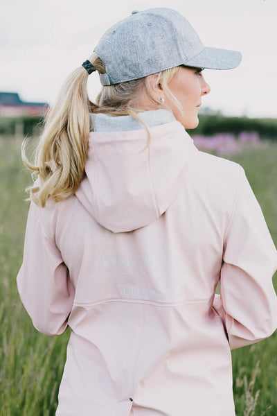House of Horses Helsinki - Ride-In Rain Trench Soft Pink