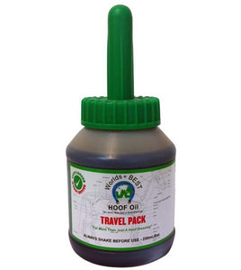 Worlds Best Travel Pack Hoof Oil