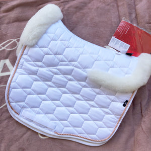 Mattes White Sheen Competition Pad Full Fleece [In Stock]