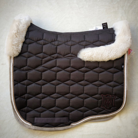 Mattes Brown Sheen Full Fleece Eurofit Dressage [In Stock]