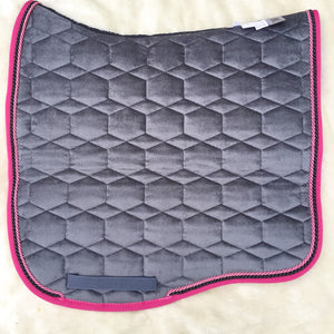 Mattes HRCAV Collection Velvet Pad Bunyip Equestrian Club
