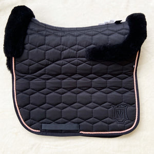 Mattes Black Sheen Full Fleece L Dressage [In stock]
