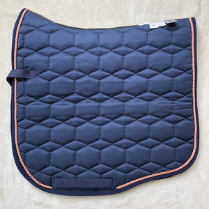 Mattes Navy Sheen & Rose Gold Dressage