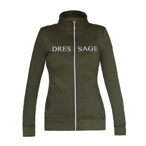 HorseGloss Olive Dressage Jacket