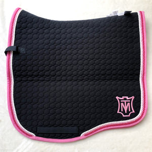 Mattes Black & Raspberry Dressage L