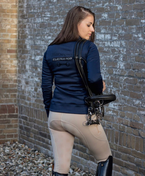 HorseGloss Equestrian Jacket - Navy